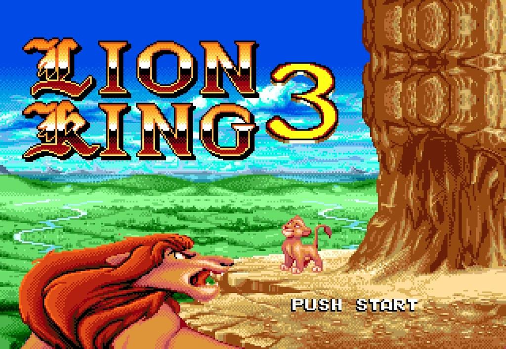 Король Лев игра на Сегу